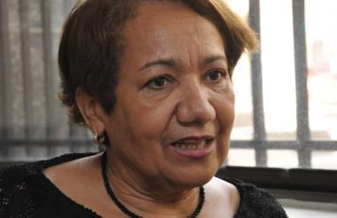 Juana Ramírez, directora de Atención a las Víctimas.