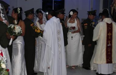 Matrimonios colectivos.