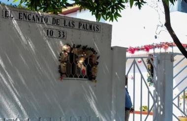 El sitio donde hoy se encuentra el conjunto residencial El encanto de Las Palmas antes acogió el teatro de ese barrio.