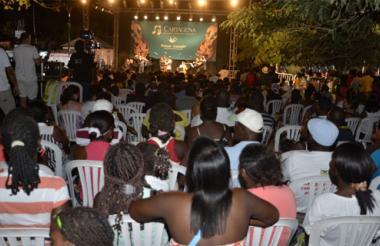 Los palenqueros disfrutaron de la música clásica en la emblemática plaza Benkos Biojó.