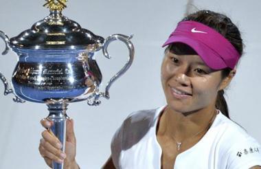 Na Li, ganadora del Abierto de Australia.