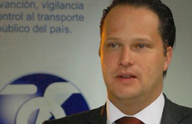José Miguel Durán, superintendente de Transporte.