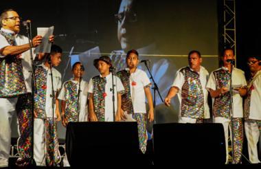 Grupo de Las Ánimas blancas de Rebolo'.