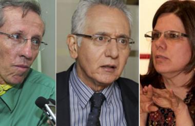 Antonio Navarro, senador electo de Alianza Verde; Guillermo A. Jaramillo, exsecretario de Gobierno y María M. Maldonado, exsecretaria de Hábitat.