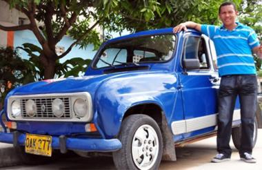 El carro apareció en 2013 en un artículo de EL HERALDO.