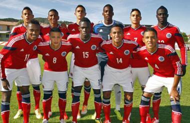 Integrantes de la Selección Colombia Sub-20.