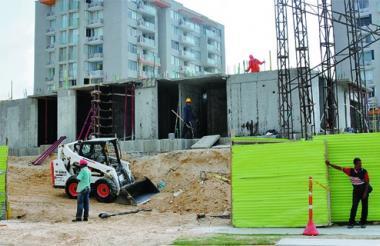 El sector de la construcción mantiene una dinámica creciente en Barranquilla.