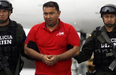 Jorge Luis Alfonso López, hijo de 'La Gata' fue capturado el pasado 30 de enero de 2014.