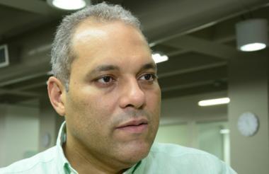 José David Name, presidente del Congreso, en una reciente visita a EL HERALDO.