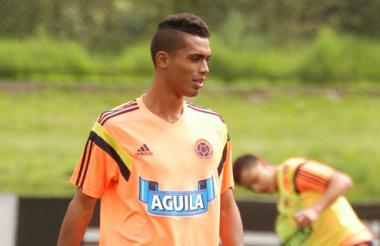 Con el uniforme de la Selección Colombia, Mauro Manotas Páez espera convertir muchos goles importantes.