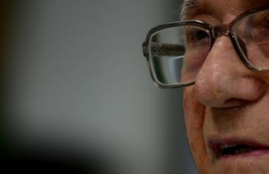 Mario Lustgarten, judío polaco, de 89 años, vive en Barranquilla desde hace 67 años.