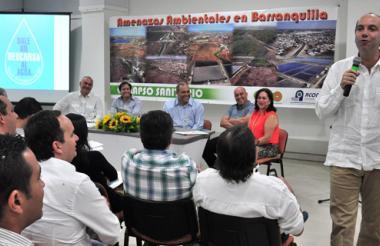 El evento fue realizado ayer en Combarranquilla, sede Country, en horas de la mañana.