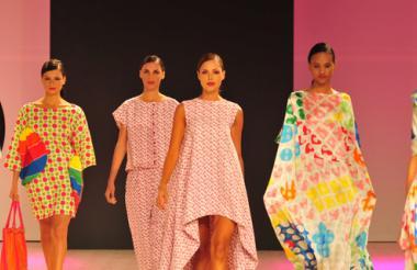 'Verano 2015' estuvo formada por piezas de otras colecciones de la diseñadora.