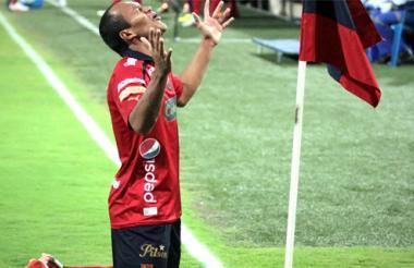 Juan David Pérez, autor del primer gol del Medellín.