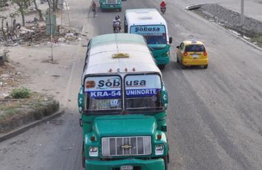 Una de las rutas reestructuradas es la C12-4169, de Sobusa.