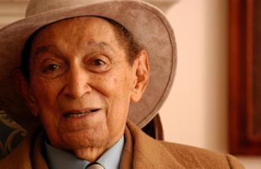 El compositor, considerado el más grande exponente de la música vallenata.