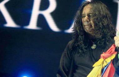 Elkin Ramírez, vocalista de Kraken.