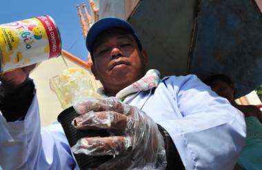 Manuel Valera deleitó y convenció al jurado con su esencia de coco con leche.