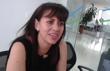 NancyHolguín, directora seccional de impuestos de la Dian.