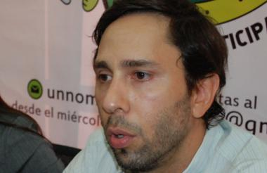 Roberto Uparela, gerente de Metrosabanas.