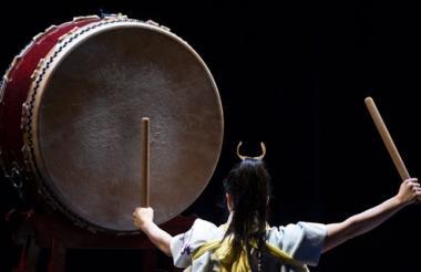 Interpretarán el tradicional tambor japonés.