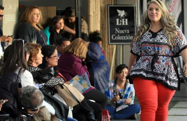 "La ""Plus Size Fashion Weekend"", feria de moda con la idea de impulsar las tallas grandes en Colombia."