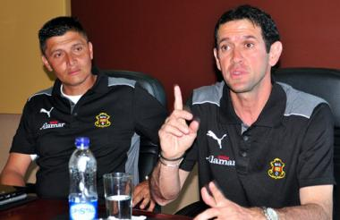 Arturo Reyes confía en el fútbol del Barranquilla FC.