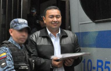 Jorge Luis Alfonso López, ex alcalde de Magangué, paga condena en Barranquilla por el asesinato del periodista Rafael Enrique Prins, ocurrido en Magangué.
