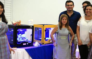La alcaldesa Elsa Noguera estuvo presente en el evento que se llevó a cabo en la Institución Educativa Distrital Inocencio Chincá.