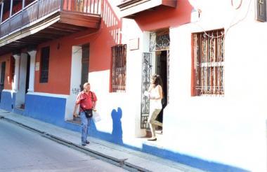 Antiguas oficinas de Recaudos y Tributos S.A. en Santa Marta.