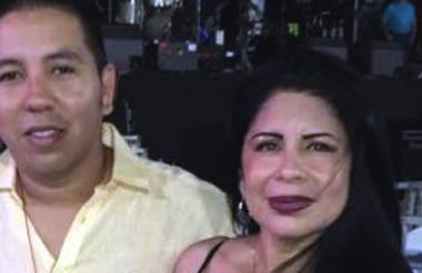La esteticista Erika Ordóñez y su yerno, David Jinete, investigados por la muerte de Angie Mendoza.