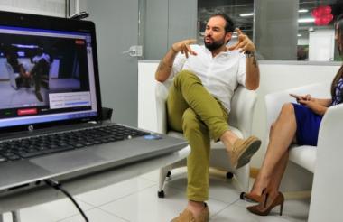Santiago Cruz habló con los lectores de El Heraldo en #EncuentrosEH