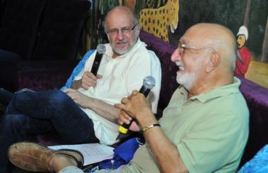 Los periodistas Daniel Samper Pizano y Juan Gossaín le dieron apertura al evento.