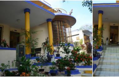 Fachada de la vivienda que es uno de los principales legados del Art Déco de Barranquilla.