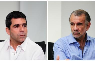 Alejandro Char y Eduardo Verano.