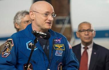 El astronauta Scott Kelly.