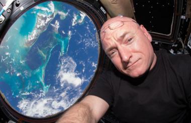 Scott Kelly, el estadounidense que más tiempo ha pasado en el espacio.