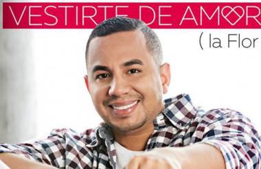 Carátula del sencillo 'Vestirte de amor', del cantautor Felipe Peláez.