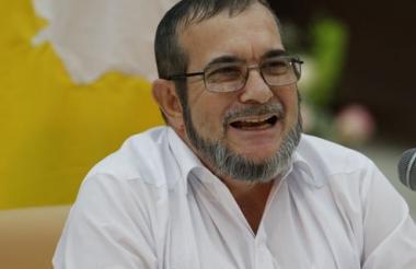 Rodrigo Londoño Echeverri, alias 'Timochenko', máximo líder de las Farc.