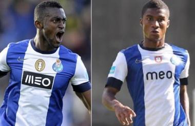 Jackson Martínez y Héctor Quiñones coincidieron en su paso por el FC Porto.