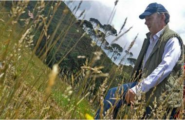 El presidente Juan Manuel Santos delimitó este martes a 8 páramos que abarcan 100 mil hectáreas y comprenden 8 departamentos.
