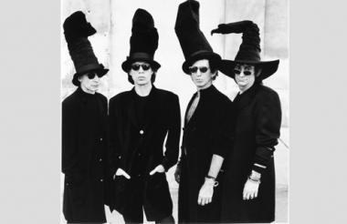 Fotografía facilitada por Saatchi Gallery, de los miembros del grupo musical Rolling Stones.