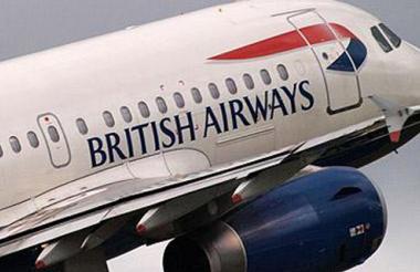 Avión de la aerolínea British Airways.