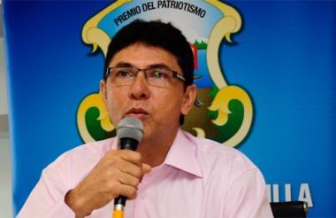 Roberto Pérez renunció a su cargo como Secretario de Gobierno.