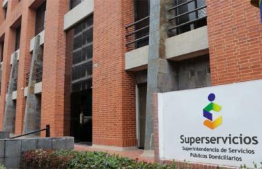 Sede de la Superservicios, en Bogotá.