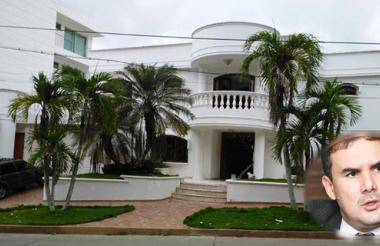 Esta es la casa a la que sería trasladado Miguel Nule.