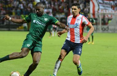 El delantero paraguayo Roberto Ovelar regresó, pero la ofensiva de Junior se mantuvo fría y sin dientes.