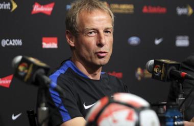 Jürgen Klinsmann, director técnico de la selección Estados de Unidos.