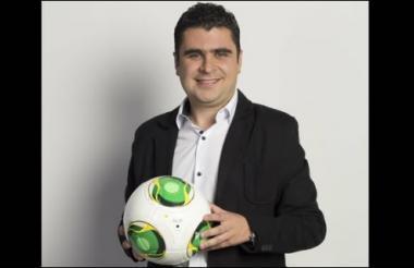 El periodista deportivo Juan Felipe Cadavid.
