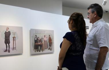 'El retablo de las maravillas' se presenta en cómic en la Universidad Metropolitana.